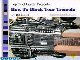 blocking tremolo