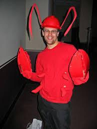 homemade lobster costume