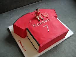 football shirt cakes