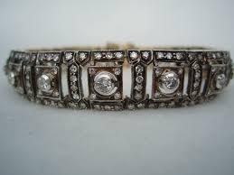 antique diamond bracelets