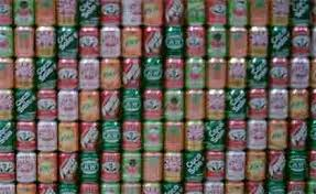 cans soda