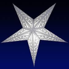 paper star lamp