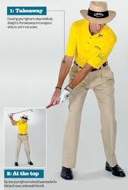 golf back swing