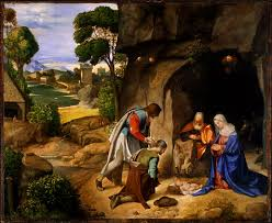 nativity scene paintings