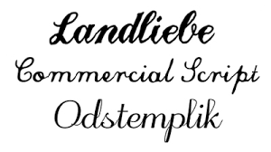 handwritten calligraphy fonts