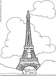 clip art of eiffel tower