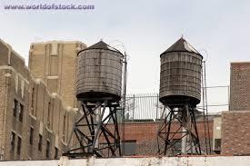 old water tanks