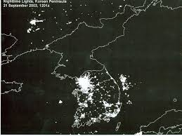 earth hour satellite images