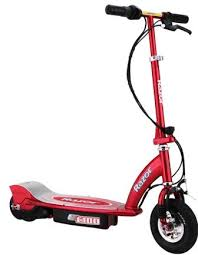 red electric scooters