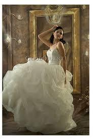 garden wedding gown
