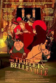 triplets of belleville poster