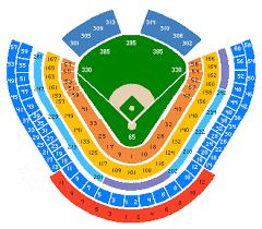 dodger stadium seating chart