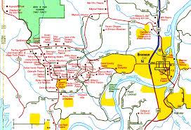 branson map