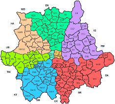 map of postcode