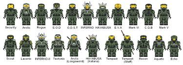 how to make halo legos