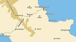 kokoda trail maps