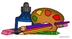 pictures of art supplies