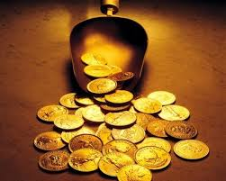 indian gold coin
