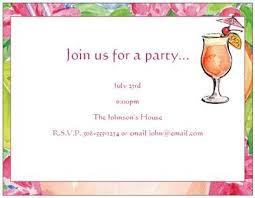 summer party invitations