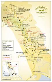 napa valley vineyards map