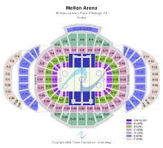 mellon arena seating