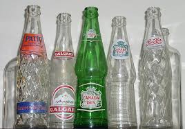antique pop bottles