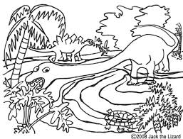 colouring pictures of dinosaurs
