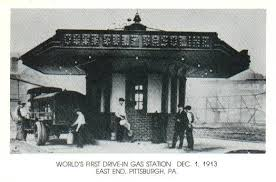 first gas station