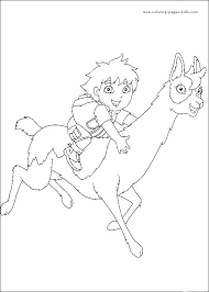 diego coloring book