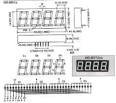 4 digit led display
