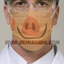 pig face masks