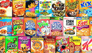cereal boxes images