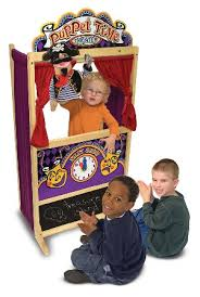 hand puppet theatre