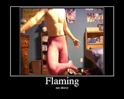 flaming pictures