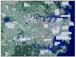 sydney districts