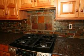 slate back splash
