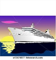 free cruise ship clipart