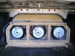 car audio enclosures