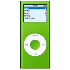 ipod green nano