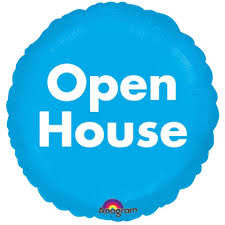 open house balloons