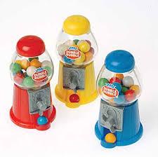 mini gum ball machine