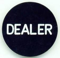 poker dealer buttons