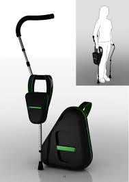 foldable crutches