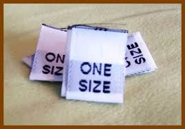 size tags