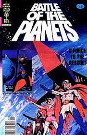 battle of the planets comic