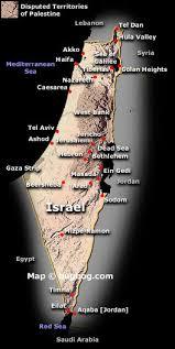 palestine maps