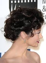 curly updos pictures