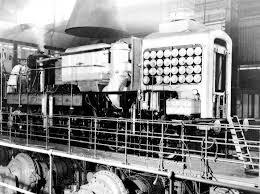 gas turbine locomotive
