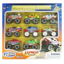 monster trucks toys