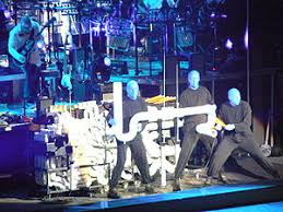 blue man group piano